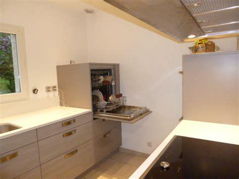 lave vaisselle en hauteur cuisine  annecy
