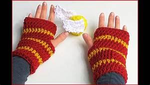 Diagrams Crochet Gloves