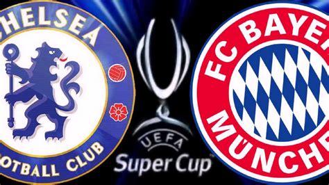 SuperCup UEFA 30.08.2013 FC CHELSEA VS BAYERN MUNICH intro ...