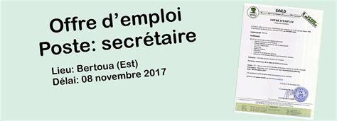 recherche poste de secretaire offre d emploi secretaire 28 images stereolux offre d emploi d assistant de direction offre