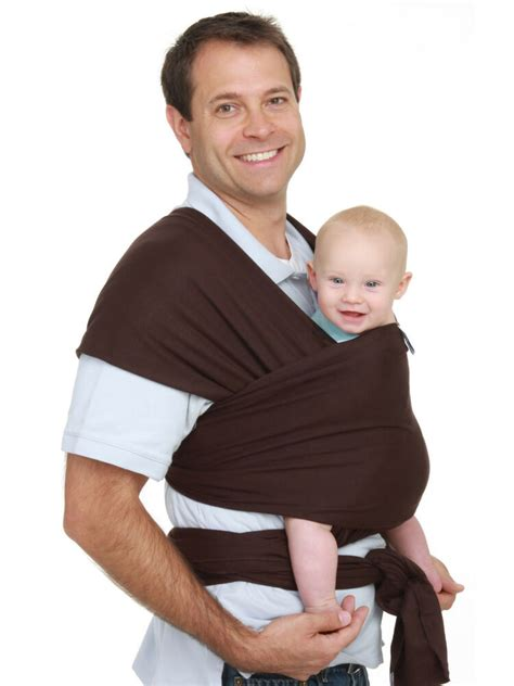 authentic moby wrap infant baby carrier sling original collection chocolate ebay