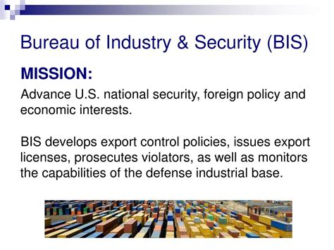 bureau of industry and security bis ppt counterfeit products in the supply chain part 1