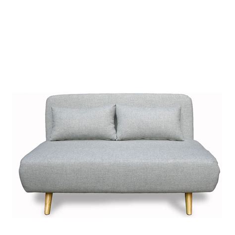 but canap convertible 2 places canapé convertible scandinave 2 places gris clair de