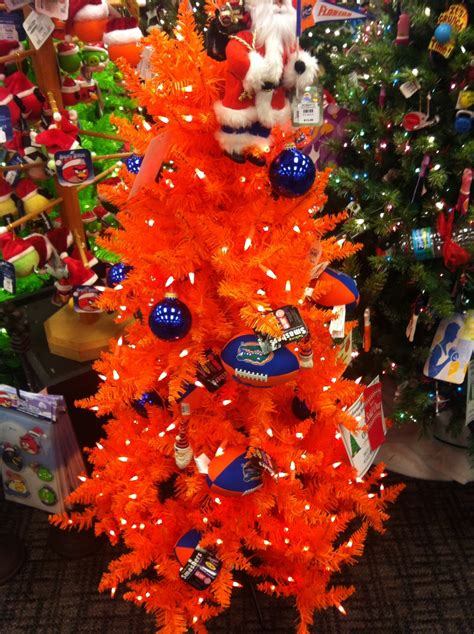 28 best orange and blue christmas tree ever seen an