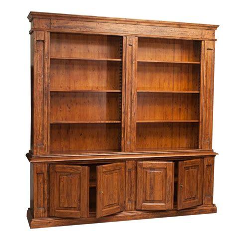 librerie in kit librerie in legno massello moderne libreria in legno