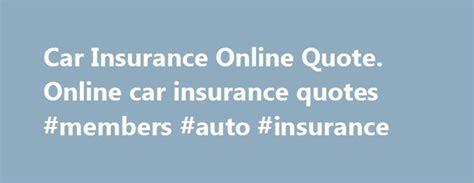 Best 25+ Car Insurance Online Ideas On Pinterest