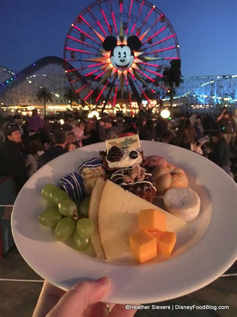 world of color dining dining in disneyland review world of color dessert