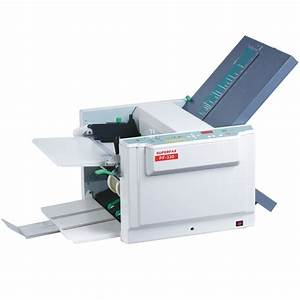 letter paper folding machine pf 330 With letter folding machine
