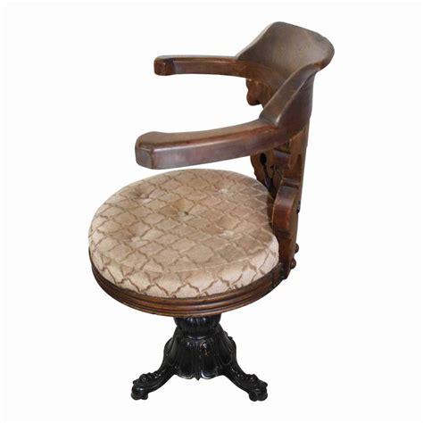 european nautical chair with cast iron base circa 1900