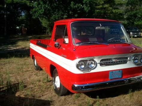 chevy chevycorvair model  rampside pickup
