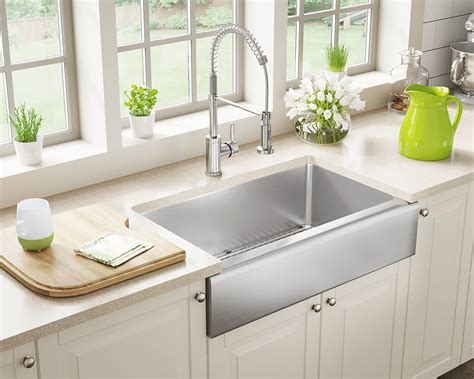 apron style kitchen sinks stainless steel sinks and faucets for kitchens and baths 4172