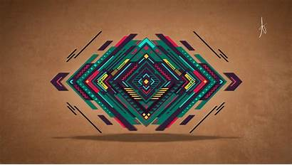 Abstract Geometry Graphic Digital Triangle Geometric Wallpapers