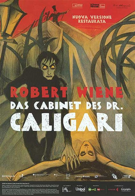 Cabinet Of Doctor Caligari Poster by Cabinet Of Dr Caligari Posters At Poster