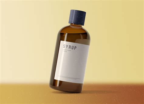 How often do you consider product mockups as the most suitable means of showcasing your design projects? 55+ Best Syrup Bottle Mockup Templates | Free & Premium