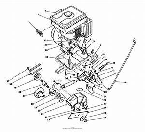 Toro Professional 58430  3 5 Hp Edger  1986  Sn 6000001