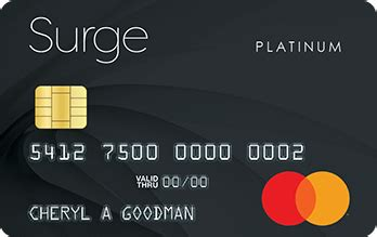 The credit limit that you are assigned upon approval cannot be increased. Surge Mastercard® Credit Card - DeluxCards