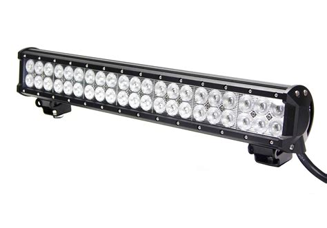 led light bar 20 inch vortex series led light bar 20 inch 126 watt combo