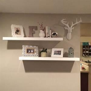 Hometalk rustic decor for floating shelves