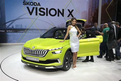 pagani suv skoda vision x concept suv pics specs and details car
