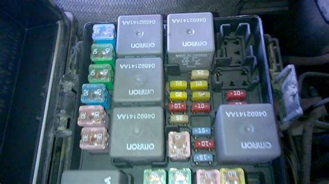 dodge nitro sigorta kutusu fuse box sicherungskasten