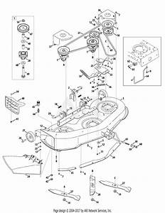Mtd 14aq816h597  2008  Parts Diagram For Deck Assembly 46