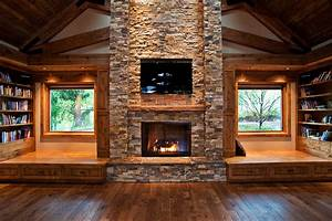 Fireplace, Ideas, 45, Modern, And, Traditional, Fireplace, Designs