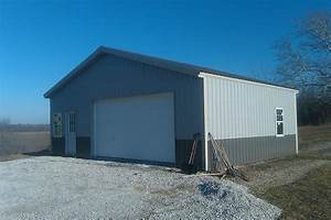 pole building kits with living quarters garage kits steel With 24x30 pole barn kit