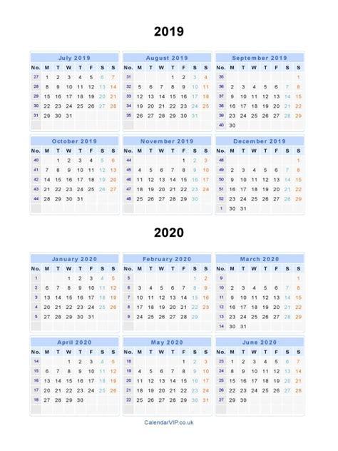 split year calendars calendar july june