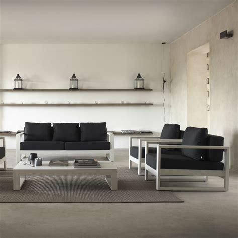 fauteuil design en metal blanc brin douest