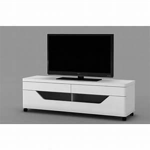 Banc TV Design Klara ATYLIA Meuble TV Atylia Pas Cher