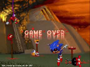 Sonic.exe Game Over