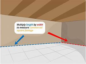 how to measure commercial square footage 5 steps With measuring square feet for flooring