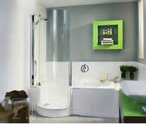 The Best Walk In Shower And Bath Combinations Twinline Tub Shower Combo Apartment Therapy