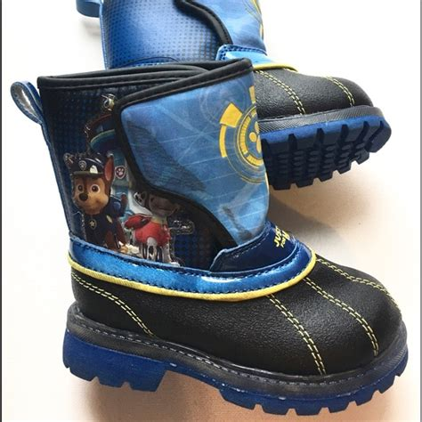 Toddler Light Up Boots by Paw Patrol Paw Patrol Light Up Toddler Snow Boots From