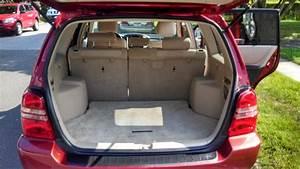 2002 Toyota Highlander - Interior Pictures