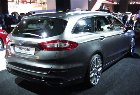 2014 Ford Mondeo Iv Wagon  Pictures, Information And