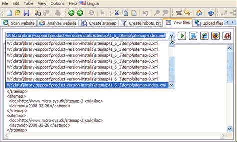 max urls xml sitemaps split using sitemap