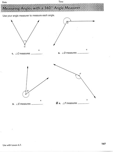 worksheet measuring angles worksheet pdf grass fedjp
