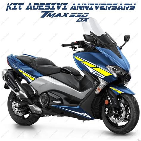 Yamaha Tmax Dx Image by Stickers Anniversary Compatible Yamaha Tmax T Max 530 Dx L