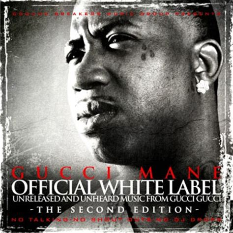 gucci mane official white label   edition