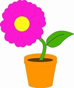 Pot De Fleur Transparent : flowerandpot clip art at vector clip art online royalty free public domain ~ Teatrodelosmanantiales.com Idées de Décoration