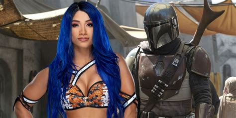 Why Jon Favreau Wanted Sasha Banks For The Mandalorian