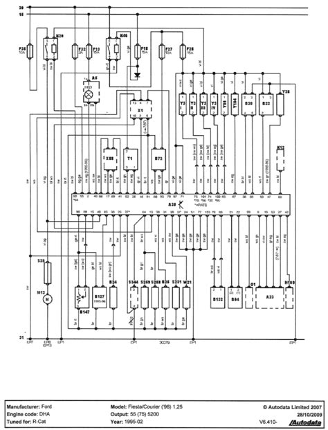 ford rs turbo wiring diagram