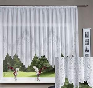 Bogen Gardinen Wohnzimmer : jacquard bogen store fertig gardine kr uselband 13112 ebay ~ Eleganceandgraceweddings.com Haus und Dekorationen