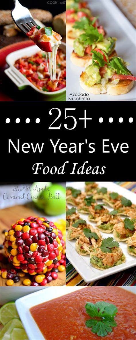 Ideas For Halloween Finger Foods by 25 New Year S Eve Food Ideas Crazy Little Projects