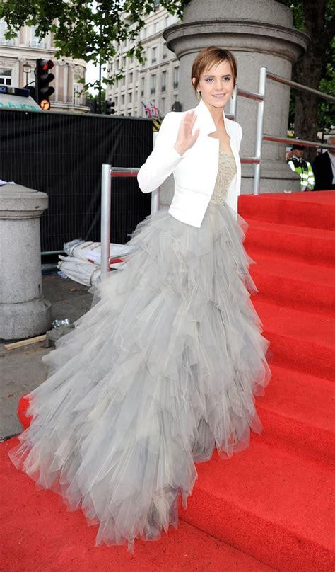 Emma Watson Oscar Renta Harry Potter