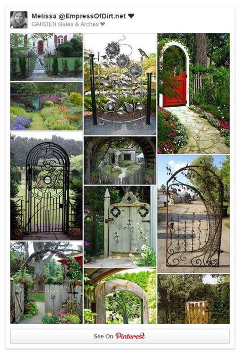 creative garden gate idea gallery empress  dirt
