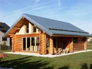 Maison En Rondin : chalets maison bois rond ~ Melissatoandfro.com Idées de Décoration