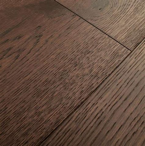 Natura by Kahrs Dark Brown Oak York Engineered Wood Flooring