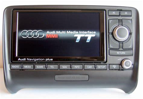 audi tt  rns  media  res  navigation